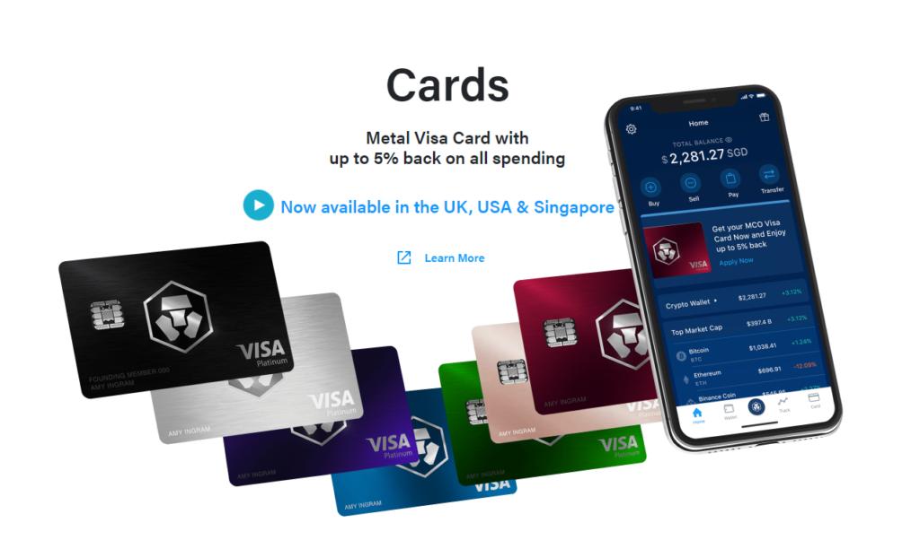 Crypto.com Cards