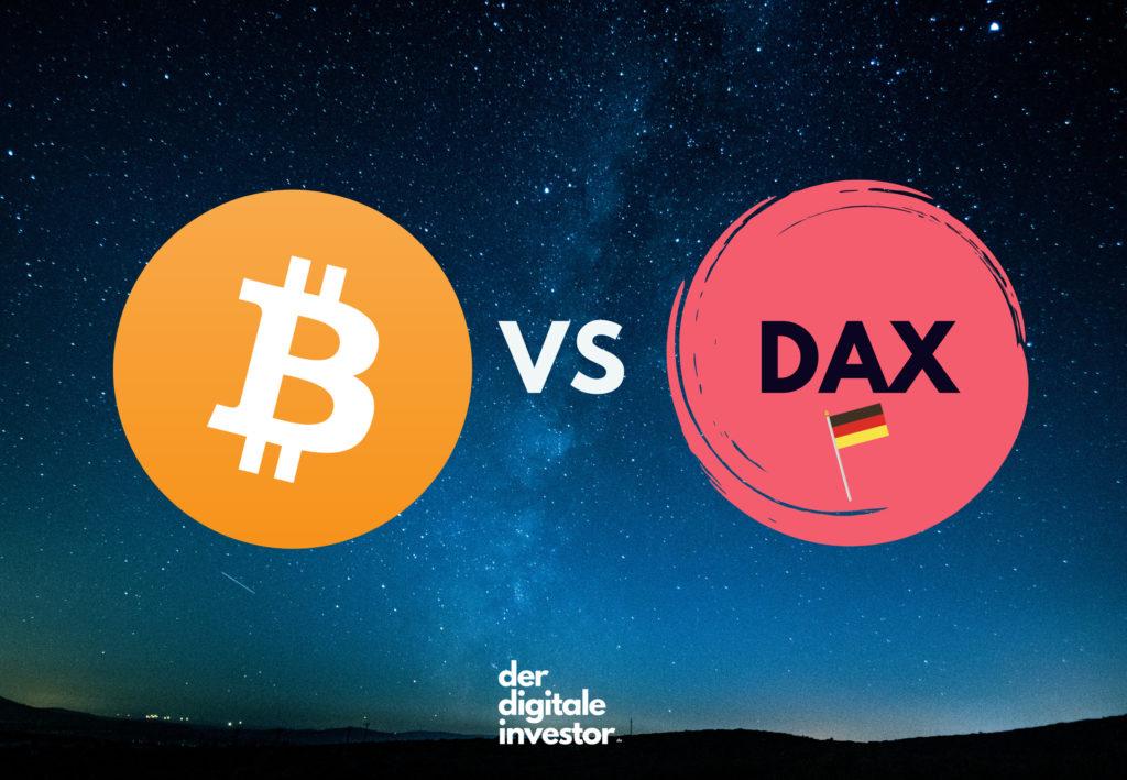BTC VS DAX