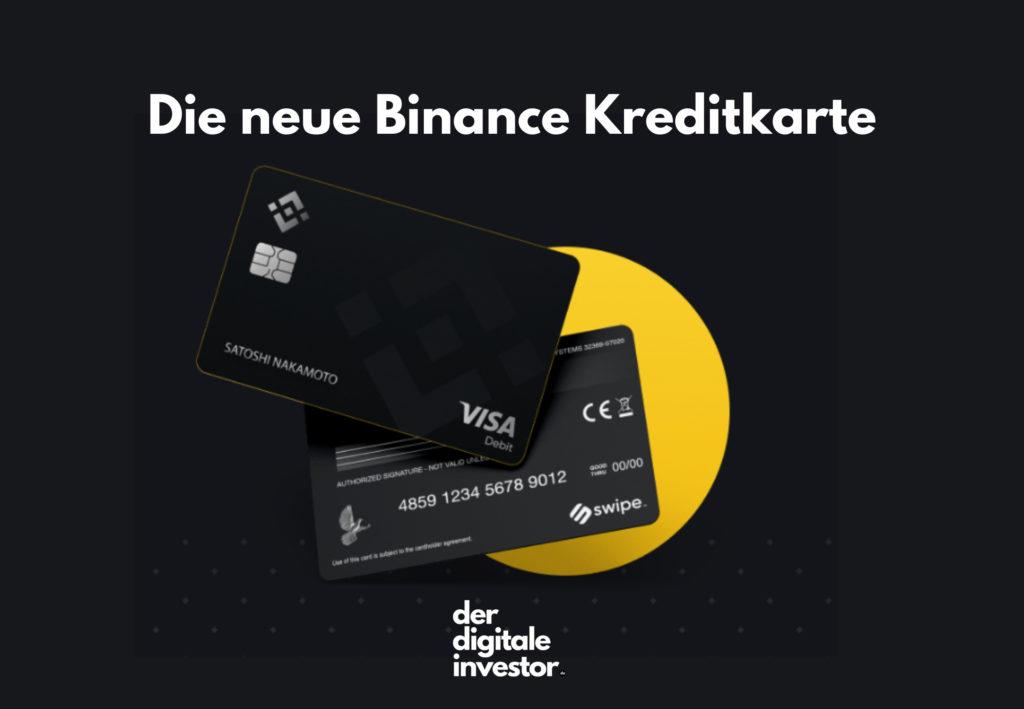 Binance Kreditkarte im Test von derdigitaleinvestor.de